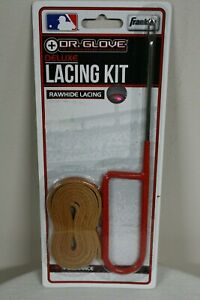 Franklin Dr. Glove Baseball Deluxe Lacing Kit Non-Slip Needle & 4' Rawhide Lace