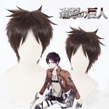 Attack on Titan Eren Jaeger Cosplay Wig Short Hair