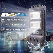 40/120W Solar Street Wall Light PIR Motion Sensor Outdoor Garden Lamp Lighting
