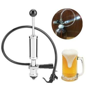 Beer Keg Tap Pump Party Picnic Taps S/D System 4 Inch Pump w/Squeeze Triggers