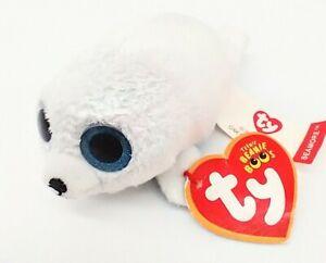 McDonalds Ty Teenie Beanie Seamore White Seal blue eyes Happy Meal Toy 2017