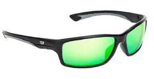 Strike King SG-SKP37 Plus Polariz Fisherman Sunglasses Black/Green