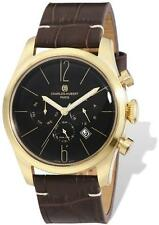 Mens Charles Hubert IP-plated Stainless 46mm Dual Time Watch