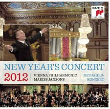 New Year's Concert 2012 CD 2 Discs Live Vienna Philharmonic Jansons Sony Import