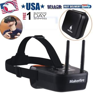 5.8Ghz Mini FPV Goggles 3inch 40CH Video Headset Glasses for FPV Racing DroneNEW