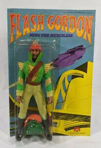 Mego Flash Gordon Ming the Merciless Action Figure - Sealed - Unpunched - 1976