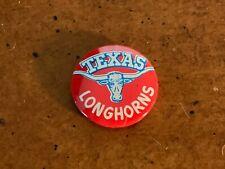 1960s Texas Longhorns Logo Football Pin