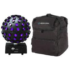 American DJ ADJ Starburst 75W LED Rotating Mirror Ball Effect Disco Light + Bag