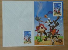 TIMBRE USA BIP BIP WILE  E COYOTE & ROAD RUNNER STAMPS 2000