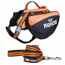 BNWT DogHelios Freestyle 3-in-1 Explorer Convertible Backpack Harness and Leash
