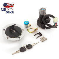 Ignition Switch Fuel Gas Cap With Lock Keys For GSXR600/750/1000 2004-2005 US