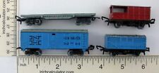 Lone Star Lot of 4 Freight Cargo Cars Treble O Lectric Locos 1960s RailEngland