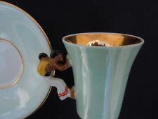 Robj Paris tasse porcelaine anse personnage maman africaine bébé Jean Borne