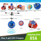Infrared Sensor RC LED Shooting Flying Ball Aircraft Remote Shooting Drone Game