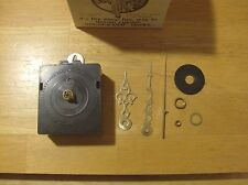 New C Size Quartz Clock Movement And Hands/Hardware. (New in Box)   Parts