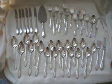 Oneida Silverplate 1932 Lady Hamilton  Pie, Knives, Forks, Spoons, Servers  41P