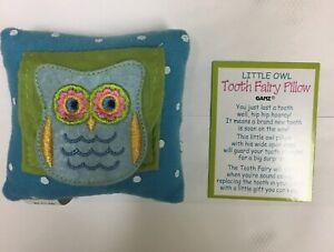 Ganz Tooth Fairy Pillow Blue