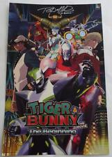 SIGNED SacAnime LAURA BAILEY & TRAVIS WILLINGHAM  TIGER & BUNNY  Poster  17 x 11