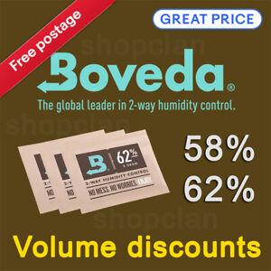 8 Gram pack Boveda 58% & 62% Humidity Control - RH 2-Way 8g Humidipak Humidipack