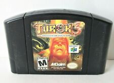 Turok 3 Shadow of Oblivion (Nintendo 64 N64) Good Labels Authentic Game Shooter
