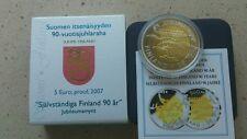 5 euros 2007 proof Finlandia como en la foto