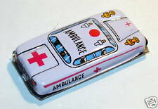LUCKY TOY MADE IN JAPAN JOUET TOLE AMBULANCE HO 1960