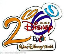 WDW Epcot: The Art of Disney 2000 (White) LE 2500 Pin