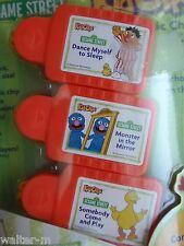 Big Bird + Ernie + Grover ~ SESAME STREET ~ 3 pack KID CLIPS music songs