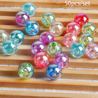 Bracelet Mixed color Jewelry Making With Hole Acrylic Bead Loose Spacer Beads