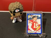 2019 Panini Donruss Patrick Mahomes II BLUE Press Proof #1V Kansas City Chiefs!!