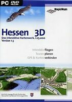 Hessen 3D Version 1.5 (DVD-ROM) von Magic Maps | Software | Zustand gut