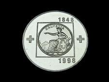Schweiz-CH., 20 Franken, 1998 B, 150 Jahre Bundesstaat, Silber, orig. St.!