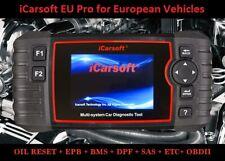 iCarsoft EU Pro DIAGNOSTIC SCANNER TOOL EUROPEAN ABS SRS AIRBAG OIL BRAKE RESET