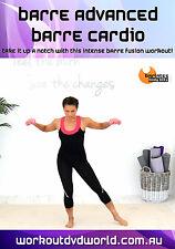 Barre Fusion EXERCISE DVD - Barlates Body Blitz BARRE ADVANCED BARRE CARDIO