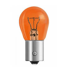 1x GE General Electric 12V PY21W BAU15S orange Incandescent Light Bulb
