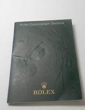 ROLEX COSMOGRAPH DAYTONA- 2002- BOOK/BOOKLET/MANUAL IN ITALIAN