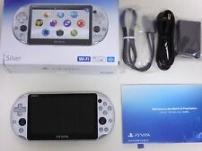 SONY 2016 PlayStation Vita Wi-Fi Console PCH-2000 ZA25 Silver PS Vita New