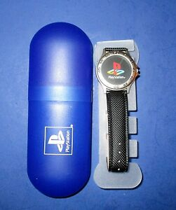 Sony Playstation PSX Watch *Rare! Launch Promo Gift- With Case! *New! Free Ship!