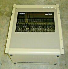 Zetron 4024 Common Control Station Shelf 901-9059 w/ 16 cards 702-9084 702-9091