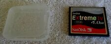 SanDisk 4GB Extreme IV CompactFlash Card Incredible Speed and Total Reliability