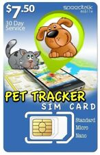 $7.50 SiM Card for Pet Tracker and Tracking Devices |3-in-1| Gsm 2G 3G 4G Lte