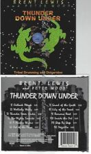 CD--BRENT LEWIS AND PETER WOOD--    THUNDER DOWN UNDER