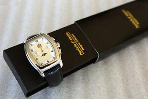 Men's Automatic Waterproofed Watch, Seiko mechanism, day & date, Boys', date