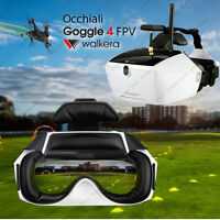 Occhiali FPV Goggle 4 drone Walkera F210, Runner 250, Video 5,8 Ghz diretta