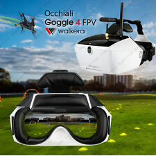 Occhiali FPV Goggle 4 drone Walkera F210, Runner 250, Video 5,8 Ghz diretta