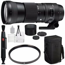 Sigma 150-600mm f/5-6.3 DG OS HSM Contemporary Lens for Nikon F + 95mm UV Filter