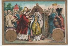 """""""PELLEGUER Médaille d'Argent NIMES 1888"""" Etiquette-chromo originale fin 1800"""
