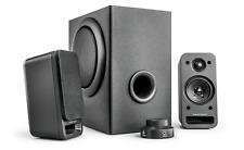 wavemaster MX3+ BT- Kit d'enceintes Stereo 2.1 BLUETOOTH Noir (50Watts)