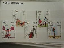 - CAMBODGE - sports - jeux olympiques - 1992 - 3