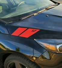 Ford Focus ST Hood stripes left and right Decal For sticker racing
